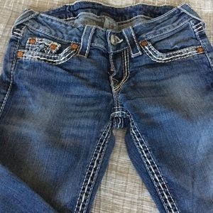 True religion boot cut size 24 worn once